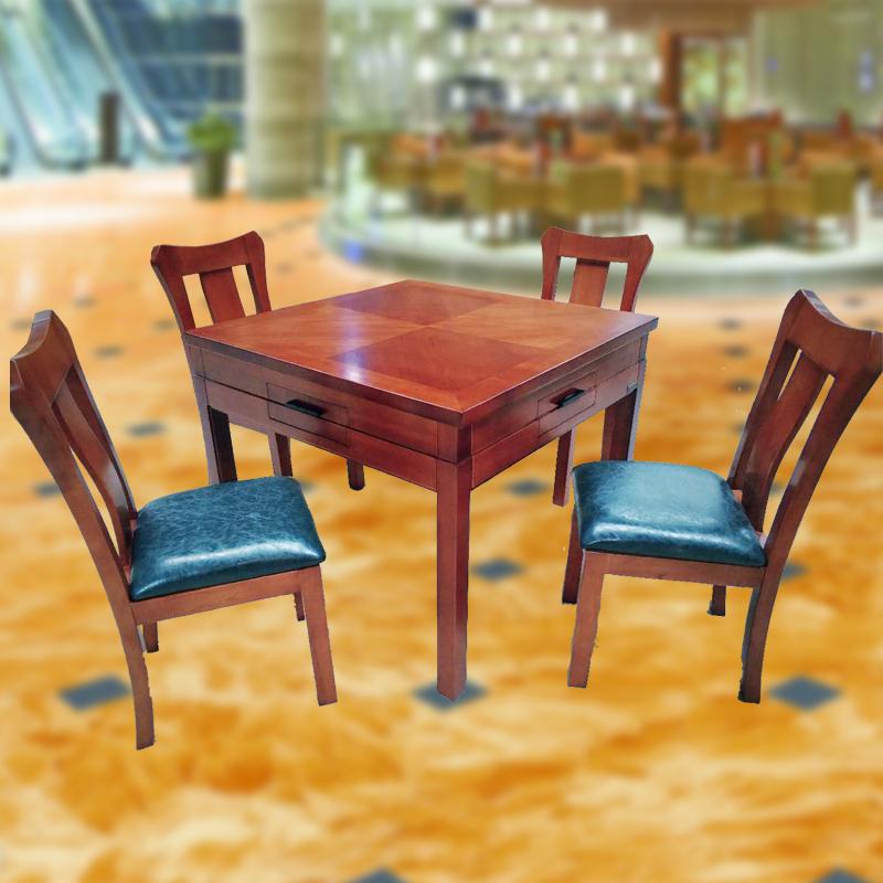 实木精品餐桌麻将机