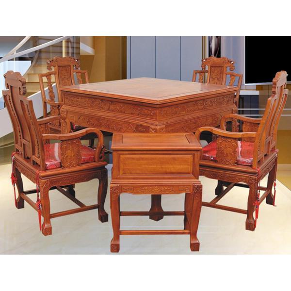 花梨或酸枝麻将机电动麻将桌