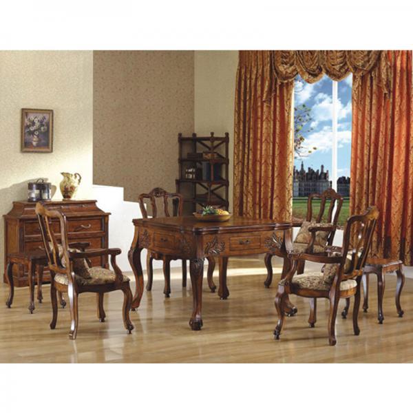 北京美式欧式餐桌麻将桌
