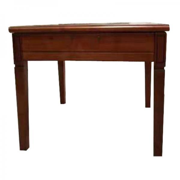 超小实木单桌餐桌两用麻将机麻将桌