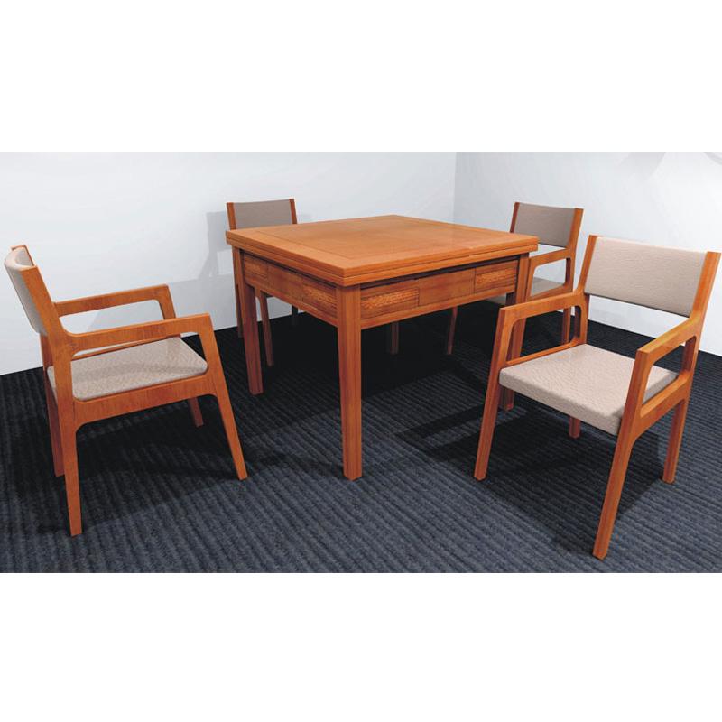 南亚林风实木麻将桌餐桌麻将机