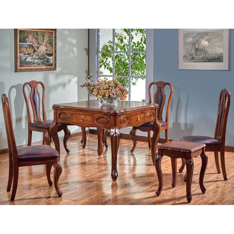 卡曼实木餐桌两用麻将机麻将桌