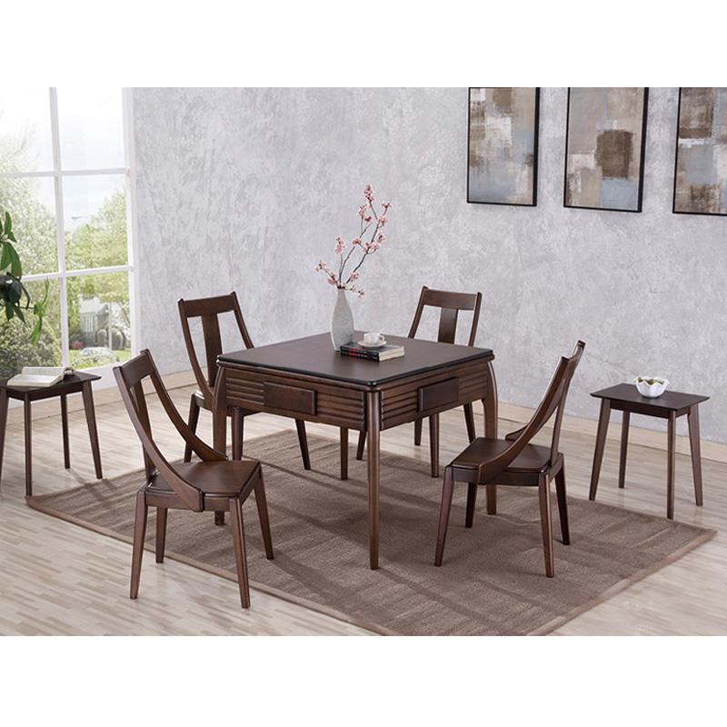 福满堂实木餐桌两用麻将桌